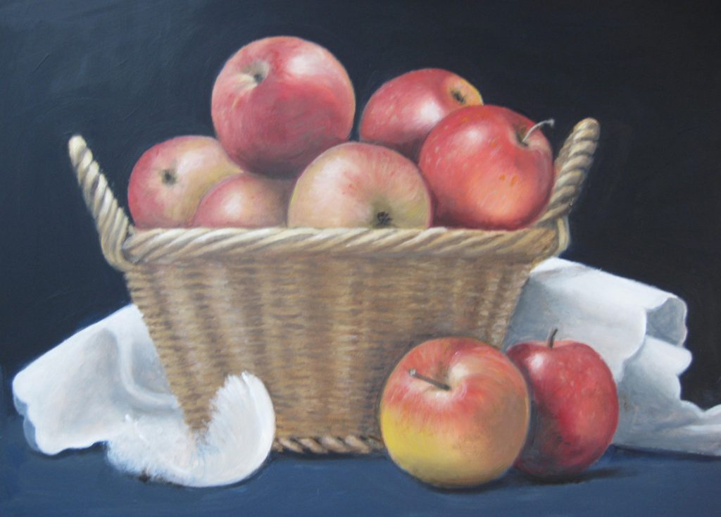 Cathy's Apples in a basket 4