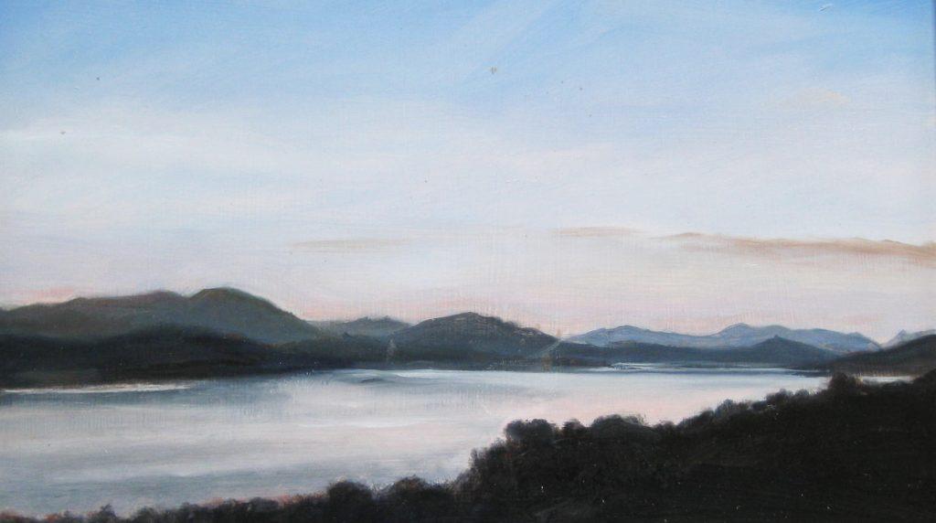 Loch Rannoch Silhouette